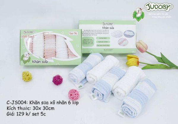Khăn sữa 6 lớp Judoby